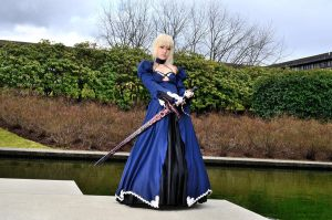 Saber Alter - Full Portrait B by DISC-Photography