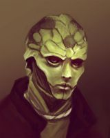 Thane in Green by Eristhe