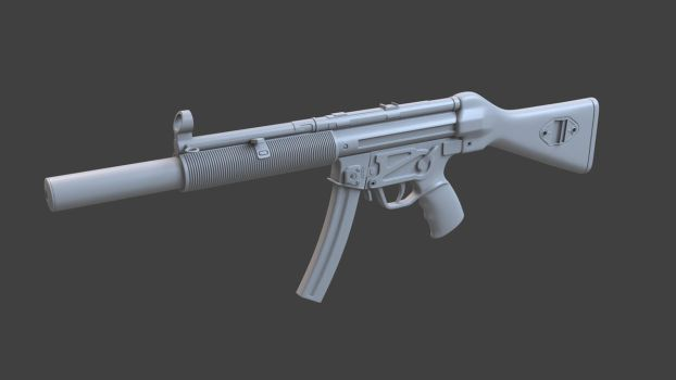 MP5 SD  (work in progress2) by Temporal333
