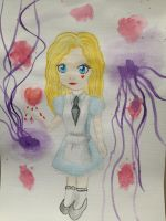 The Alice Doll redraw by RosaPeach