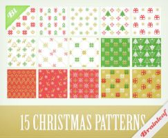 Christmas Pixel Patterns by Ransie3