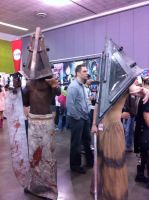 Pyramid Head Fanime 2011 by LadyAkeldama