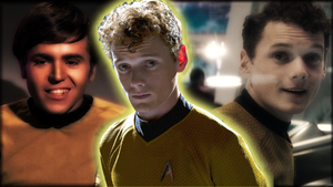 Chekov Reborn Wallpaper by SailorTrekkie92