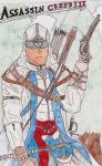 Assassins Creed III Connor by B-RizzleXXXX