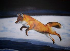 Red Fox II by Orava