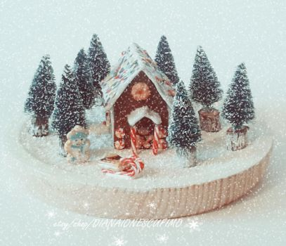 Winter home decoration by ionescudiana