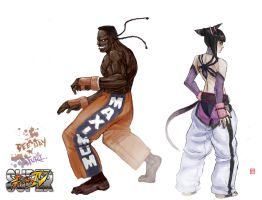 DEE JAY n JURI color by rgm501