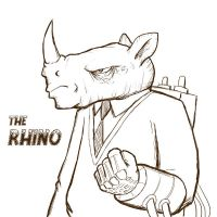 The Rhino by SethWolfshorndl