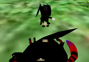 scourge crushed someones skull D: by babyboy1234