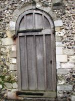 old wooden door by thiselectricheart