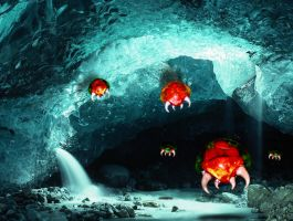 Metroid's cave by emeraldsaber