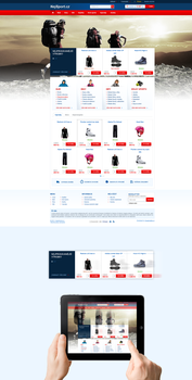 Sport ecommerce by Visual-Creative