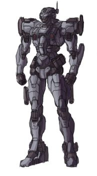 Continental Infantry Mech by Frost7