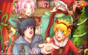 Team 7 - Merry Christmas by TopazShrine