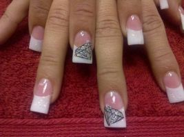 Diamond - Nail Art by DignifiedDoll