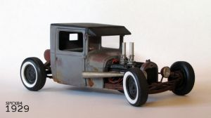 1929 Ford Rat Rod by Spex84