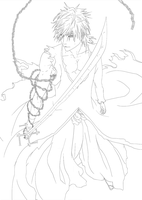 Final Getsuga Lineart by Keh-ven