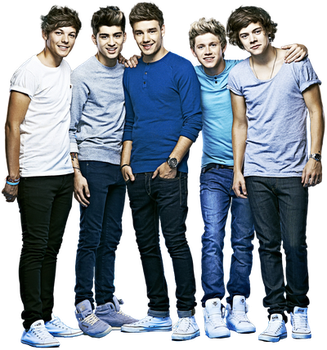One Direction png 1 by MeganL125