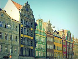 Tenements of Wroclaw by DreamThestral