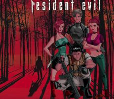 Resident Evil Poster II by Ari-Spike-Nadelman