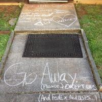 I Found Chalk And We Got A Little Unsociable by AuroraBlix