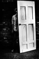 A Man And A Door VI by BlackCarrionRose