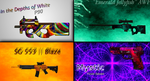 Personal Favourite CS:GO skins I've made by ZMastah94