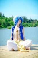 Aladdin. Magi:Labyrinth of Magic by VictorEdenfield