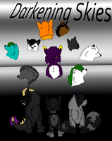 Darkening Skies cover page by Zacaria-Lain