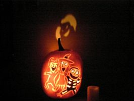 Home Pumpkin 2007 by MissCreepers