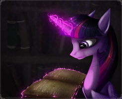Twilight magic by Vongrell
