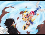 FairyTail 465 | The Confrontation by AJM-FairyTail