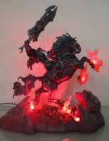 Fan Photo of the day!  War and Ruin Statue by StateOfTheArt-toys