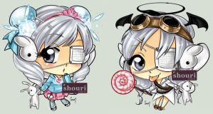 Gaia Chibi Momo 1 by ShouriMajo