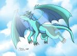 FLY HIGH IN THE SKY by RUNNINGWOLF-MIRARI