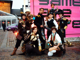 The Steampunk Group.TEASER. by HelenaTears