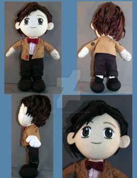 11th Doctor Plush by BarbaricCreations