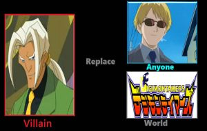 What if Valmont Replace Yamaki at Digimon Tamers by JasonPictures