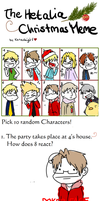 A Very Hetalia Christmas Meme! by NSYee36