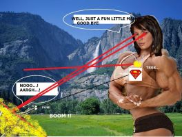 Muscle Montain Strong Woman 4D by ArchiveSW