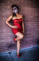 Sugar Skull and Sequins by X-5-4-5-2