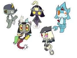 A whole lot of Orikero biographys pt2 by NaturisticLeafy