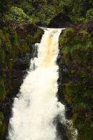 Violent waterfall by CAStock