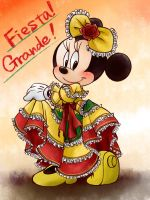 Minnie's Fiesta Grande by chico-110