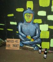 NEED CASH FOR PAINT by Senf42