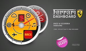 Ferrari Dashboard by whyred