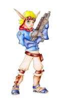 Jak color pencil by raquel-cobi