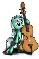 Lyra Cello Collab by Tetrapony