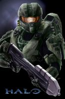 HALO by TheArtofScott