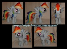 15 inches Rainbow Dash by MLPT-fan